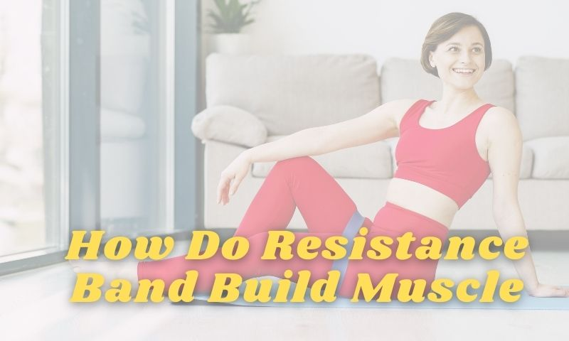 do resistance band build muscle
